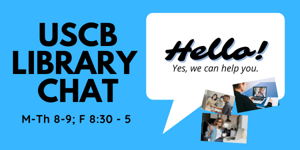 USCB Library Chat