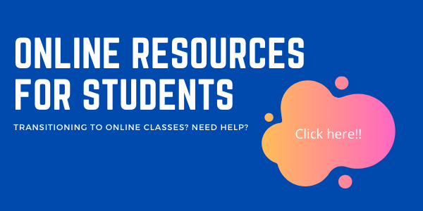 Resources for Students Transitioning to Online Courses