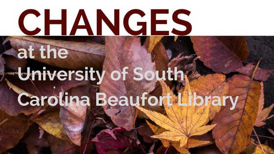 Changes at the USCB Library